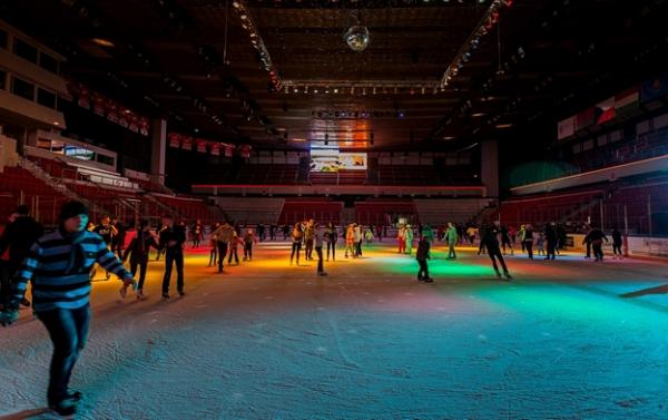 Дороги на хоккей:  Ледовый дворец «Сокольники»